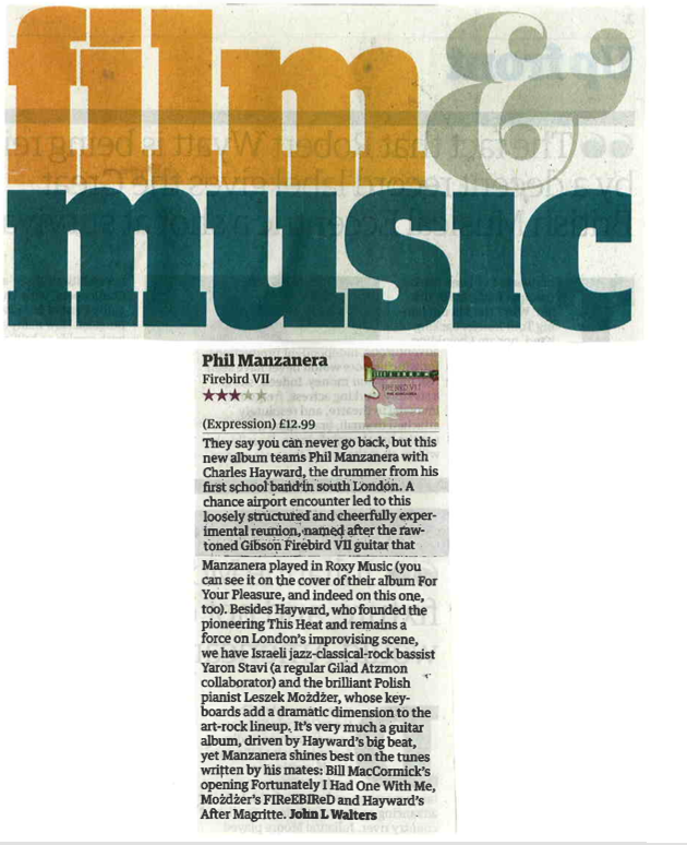 Firebird V11 review - The Guardian 14 Nov 2008